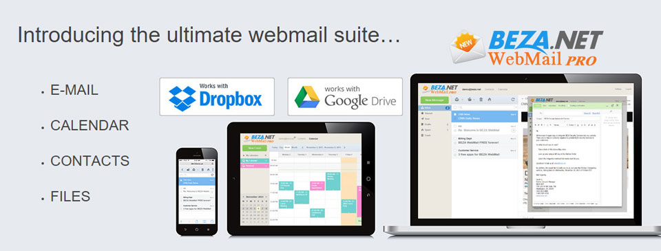 New Webmail Platform Launched