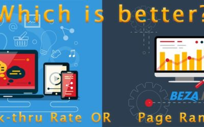 Which is better: Click-through Rate or Page Rank?