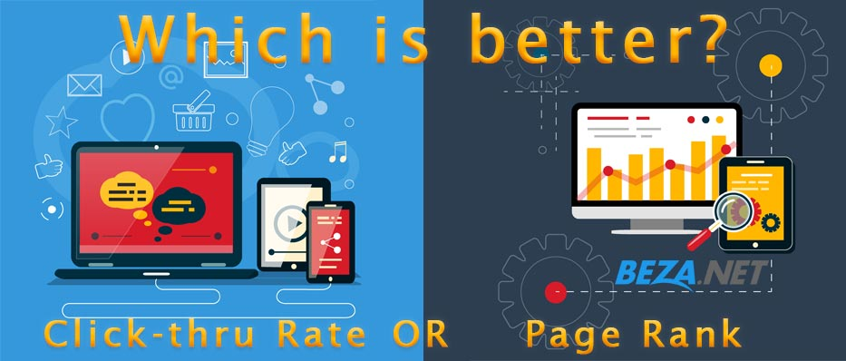 Which is better: CTR or Page Rank?