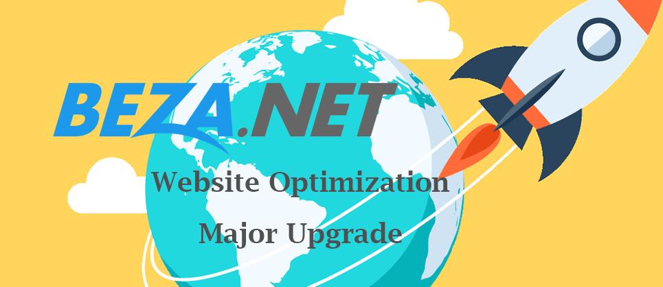 Website Optimization Major Upgrade